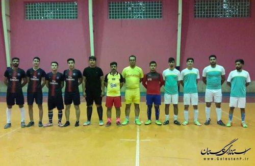 برگزاری مسابقات فوتسال پناهندگان در استان گلستان