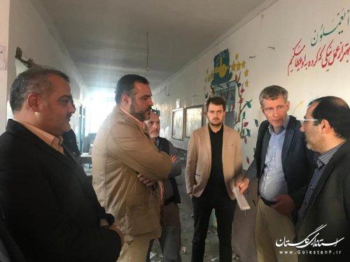 سفر نمایندگان پروژه اکو اتحادیه اروپا به استان گلستان