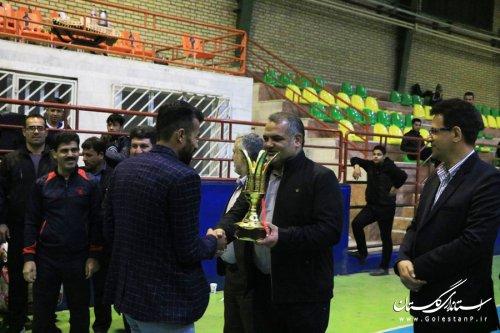 مسابقات فوتسال جام صلح و دوستی با قهرمانی آریانا به پایان رسید
