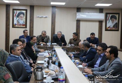 هشتمین جلسه شورای مدیران حوزه معاونت سیاسی، امنیتی و اجتماعی استانداری برگزار شد
