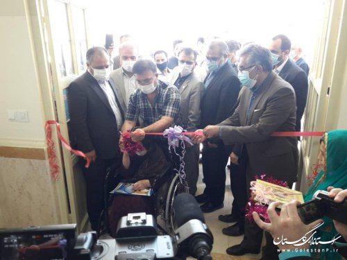 افتتاح مدرسه 6 کلاسه عطا آقا دوجی در محله مدرسی گنبد کاووس