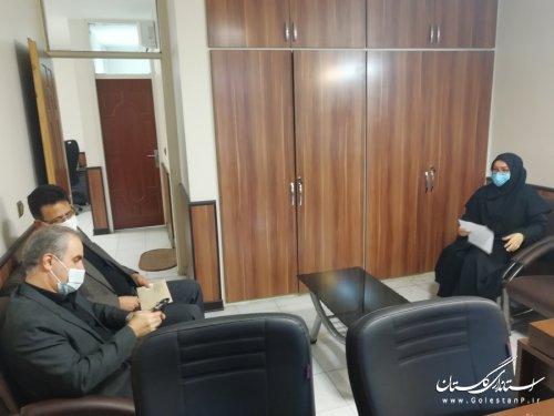 حضور معاون سیاسی امنیتی و اجتماعی استاندار در اداره کل امور اتباع و مهاجرین خارجی