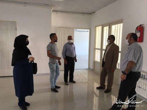 بازدید مدیرکل امور اتباع و مهاجرین خارجی از پروژه های در دست احداث حوزه اتباع