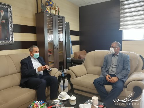 رئیس نمایندگی وزارت خارجه در استان با مدیرکل امور اتباع و مهاجرین دیدار کرد